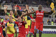 Napoli hold top spot as they continue perfect start at Fiorentina