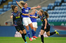 Tottenham join Arsenal at top of Women's Super League while Man City's difficult start continues