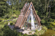 Wood you look: Step inside this otherworldly eco-house with an unforgettable design