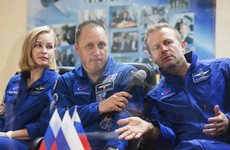 Film crew to blast off from Russian launch site to make first movie in space