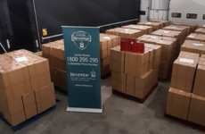 Cigarettes worth €2.4 million seized after x-ray search of trailers in Rosslare