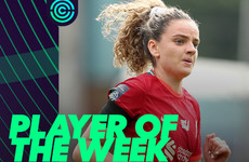 Liverpool and Ireland star Kiernan voted Player of the Week after brilliant brace