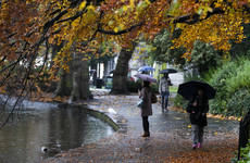 Rain warnings issued for seven western counties ... but unseasonably warm conditions ahead