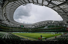 'Optimistic we'll reach that 100%' - Ireland's November internationals set for full crowds
