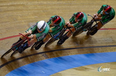 Ireland power to bronze medal at European Track Cycling Championships