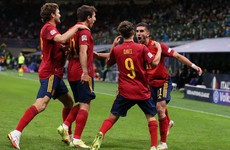 Spain end Italy's record unbeaten run to reach Nations League final