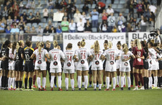 'Stand in silence with us' - NWSL players halt play to highlight sexual abuse allegations
