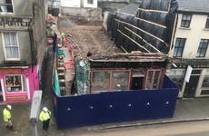 Site of former Cork pub sealed off after skeletal remains discovered