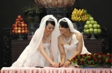 Taiwan holds first same-sex Buddhist wedding