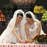 Taiwan holds first same-sex Buddhist wedding