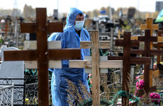 Russia's Covid-19 cases soar to highest level this year as daily death toll exceeds 900