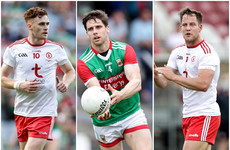 Tyrone duo and Mayo star nominated for 2021 Footballer of the Year award