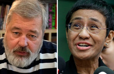 Nobel Peace Prize awarded to two journalists from the Philippines and Russia