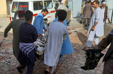 Suicide bomber kills at least 55 during Friday prayers at Afghan mosque