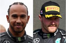 Lewis Hamilton sets track record at Turkish GP as Valtteri Bottas starts on pole