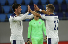 Serbia edge Luxembourg to go top of Ireland's group