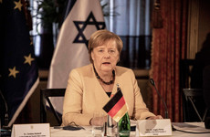 Israel security will remain priority, Merkel says on farewell trip