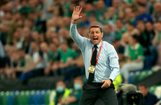 Northern Ireland boss Baraclough 'annoyed and appalled' by controversial red card in Geneva