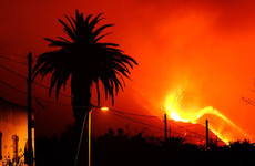 La Palma volcanic eruption going strong after three weeks