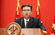 North Korean leader urges officials to overcome the country's 'grim situation'