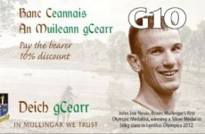 John Joe replaces Joyce on Mullingar's local currency
