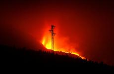 Thousands locked down as La Palma volcano destroys cement plant