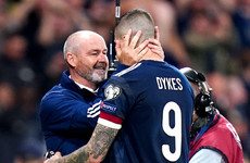Lyndon Dykes rescues Scotland with late winner to put play-off spot in sight