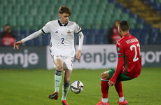 Liverpool full-back Bradley's display offers positive despite Northern Ireland's miserable week