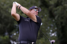 Mickelson takes aim at 'stupid' directive to curb driving distances