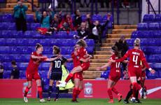 Kiernan continues Liverpool goal-scoring form, Connolly downs Birmingham's Irish Seven