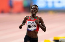 'Athletics has lost one of its brightest young stars' - tributes paid to the late Agnes Tirop