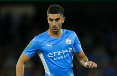 Blow for Man City as promising forward suffers fractured foot