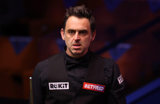 Ronnie O'Sullivan tells fans to 'sit down' during defeat