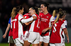 Katie McCabe features as Arsenal earn Champions League win