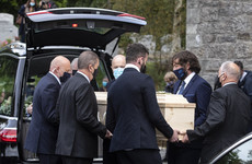 'Music was his life': Funeral of Chieftains founder Paddy Moloney takes place in Wicklow