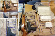 Man (30s) arrested after two air guns and €35k worth of cocaine seized during Garda search