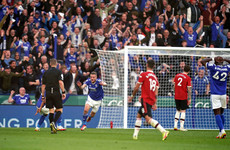 Man United's unbeaten away record comes to crushing end at Leicester