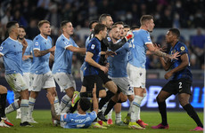 Inter lose cool, and unbeaten record, after controversial Lazio goal