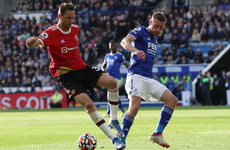 Manchester United 'still in the title race' as Matic urges unity after Leicester loss