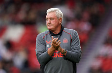 Steve Bruce's son says he's been made the 'fall guy'