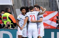 Bayern score 4 goals in 7 minutes to crush fellow title hopefuls
