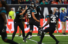 Jacksonville end second-longest losing run in NFL history with over 60,000 fans watching on in London