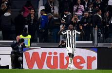 Everton loanee on target as Juventus edge Jose Mourinho's Roma