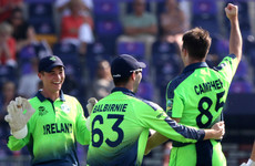 Campher takes four wickets in four balls as Ireland thrash Netherlands in T20 World Cup