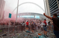 England ordered to play match behind closed doors after Euro 2020 final disorder