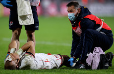 Lower leg fracture set to rule Ulster's Addison out for lengthy period