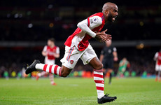 Last-gasp Lacazette saves Arsenal a point at home to Palace