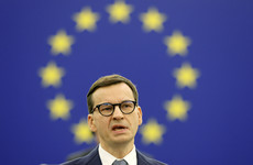 Polish Prime Minister accuses the EU of 'blackmail' during clash over rule of law
