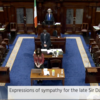 Dáil observes moment of silence in memory of MP David Amess