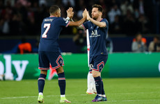 Messi and Mbappe lead PSG to victory, Benzema scores in Real rout